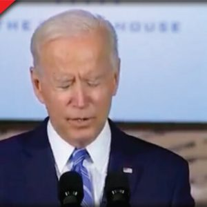 Biden Just Did the Most Bizarre Thing And It Was Caught on Camera