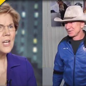 BREAKUP: Elizabeth Warren Calls For The End Of Amazon As We Know It