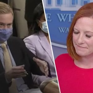 Fox Reporter Catches Psaki Lying in REAL-TIME…Things Get Awkward