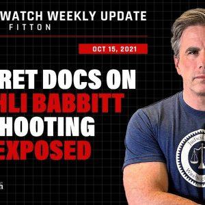 "Fitton: Docs Show ""No Good Reason"" to Shoot Ashli Babbitt! Biden DOJ Endorses Anti-Trump Abuse"