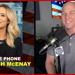 IS KAYLEIGH MCENANY GOING BACK TO THE WHITE HOUSE?