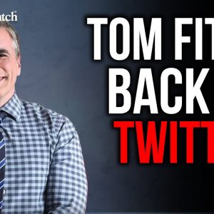 Judicial Watch's Tom Fitton Back on Twitter!