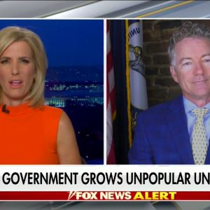 Dr. Rand Paul Joins Laura Ingraham to Discuss Big Government and January 6th Investigation