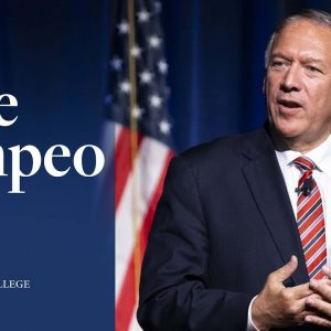 LIVESTREAM - Mike Pompeo Speech at Hillsdale College