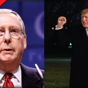 Mitch McConnell Seems To Fold To Biden, Trump Quickly Drops The Hammer On Him