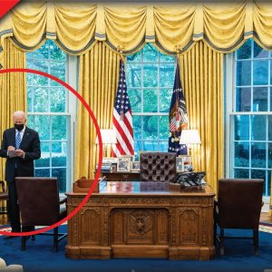 Last Night Joe Biden Locked Himself Behind Closed Doors, Avoided Press And Signed New Bill
