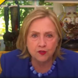 Hillary Clinton Announces Democrats Must End This One Thing To Stop Republicans Right Now