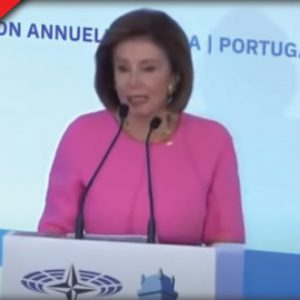 """Pelosi Gives Speech About What She Would Do Once She """"Ruled The World"""""""