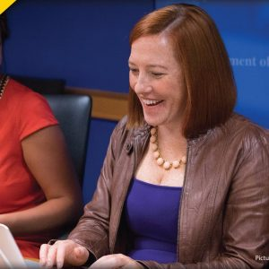 Psaki LAUGHS At Americans Who Have Been Affected By Supply Shortages
