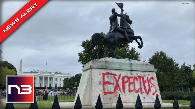 Climate Protestors Swarm Biden White House, Police Called And Democrat Statue Vandalized
