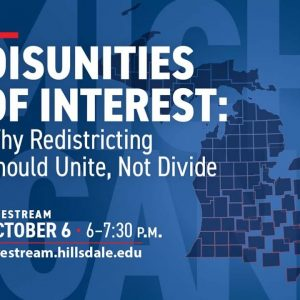 LIVESTREAM | Disunities of Interest - Why Redistricting Should Unite, Not Divide