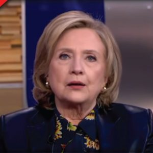 """Hillary Clinton Announces She's Not Leaving """"Game Of Politics,"""" Makes Call For More Censorship"""